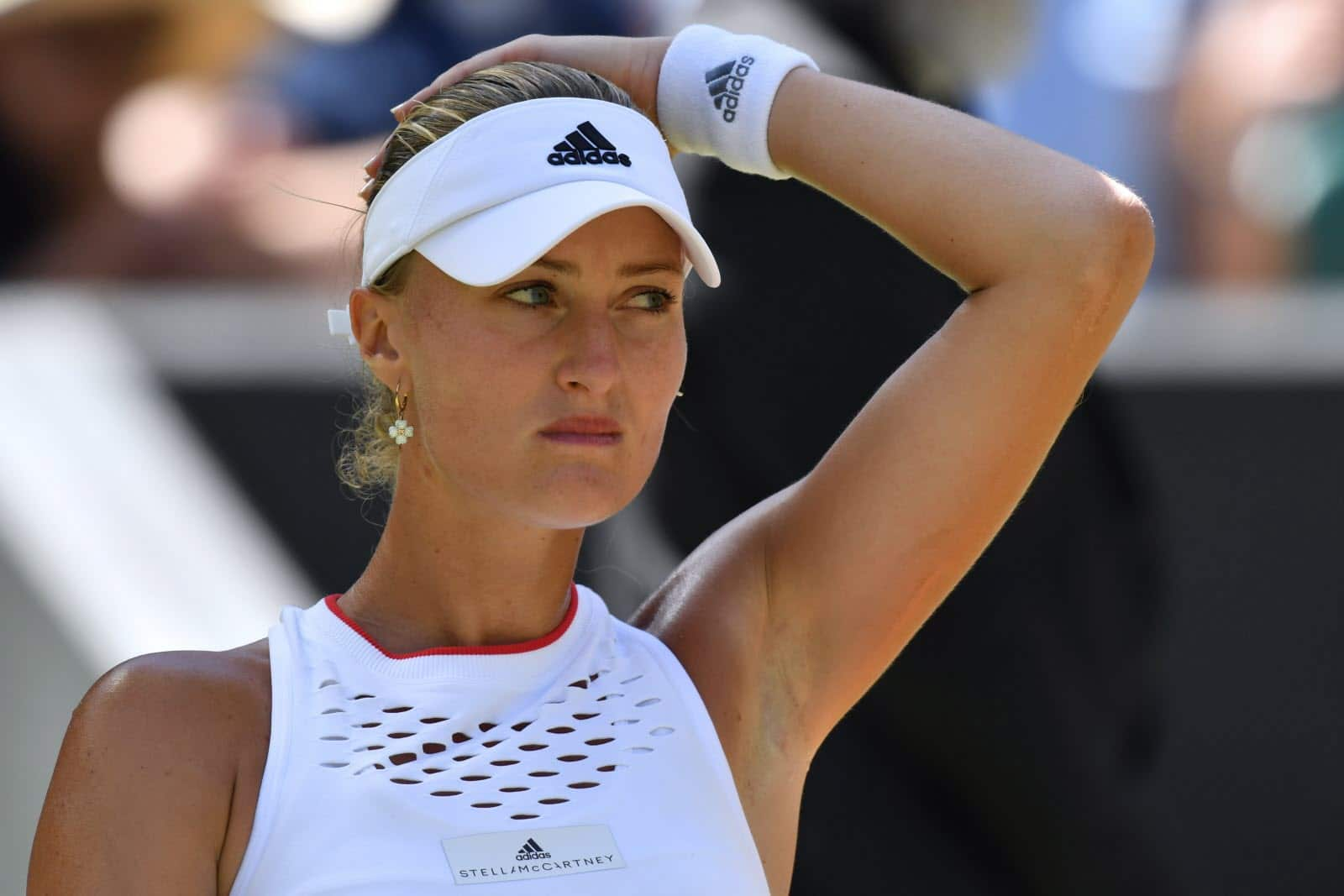 Kristina Mladenovic éprouvée, elle met un terme à sa saison !