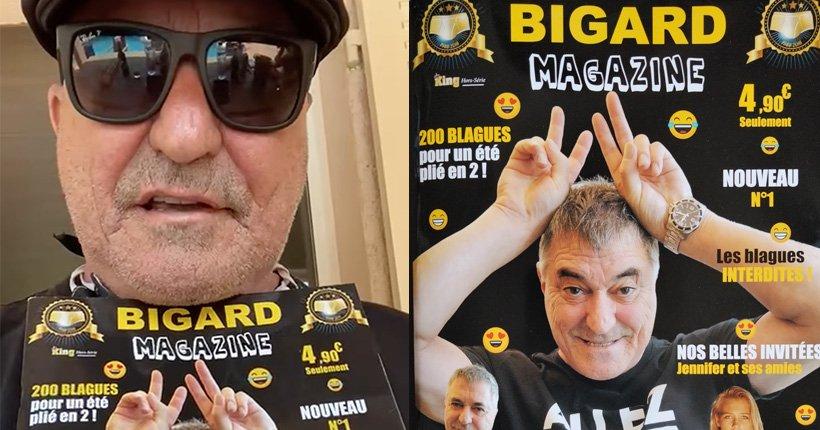 Bigard magazine, le nouveau journal de Jean-Marie Bigard