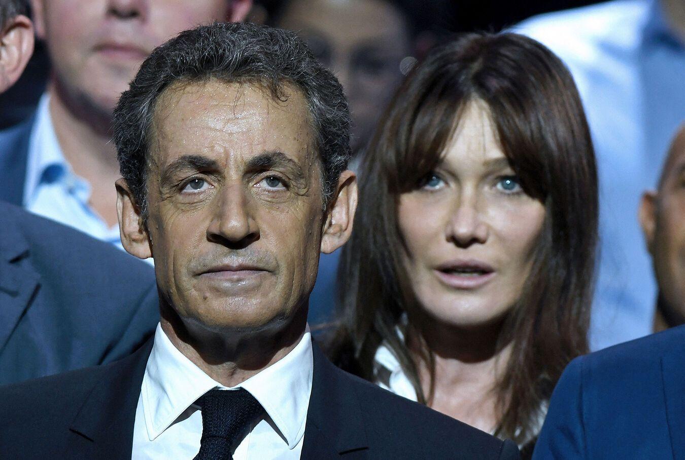 Nicolas Sarkozy condamné... Carla Bruni soutient son mari !