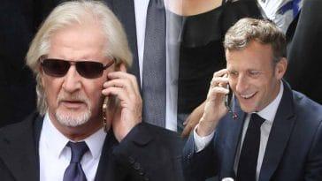 """Patrick Sébastien : """"J'ai Macron au téléphone à 1 heure du matin"""""""