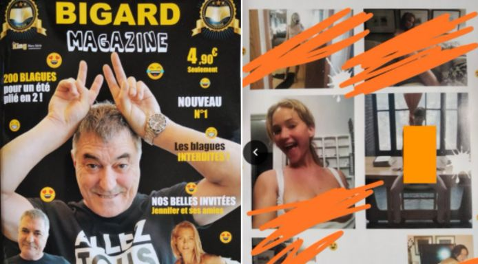 Le magazine de Jean-Marie Bigard condamné à 20.000 euros d'amendes