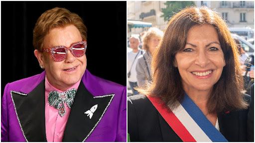 Elton John apporte son soutien à Anne Hidalgo .. je vote pour vous