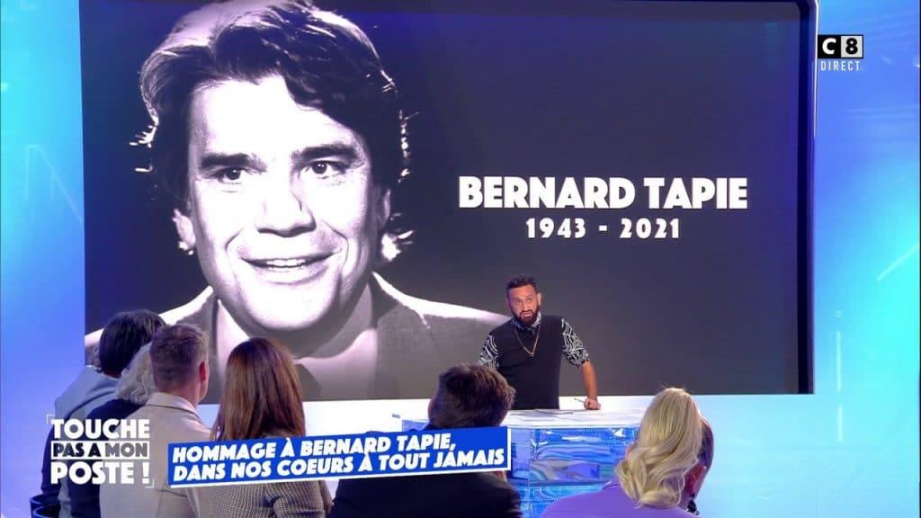 Cyril Hanouna n'a jamais vu Bernard Tapie!
